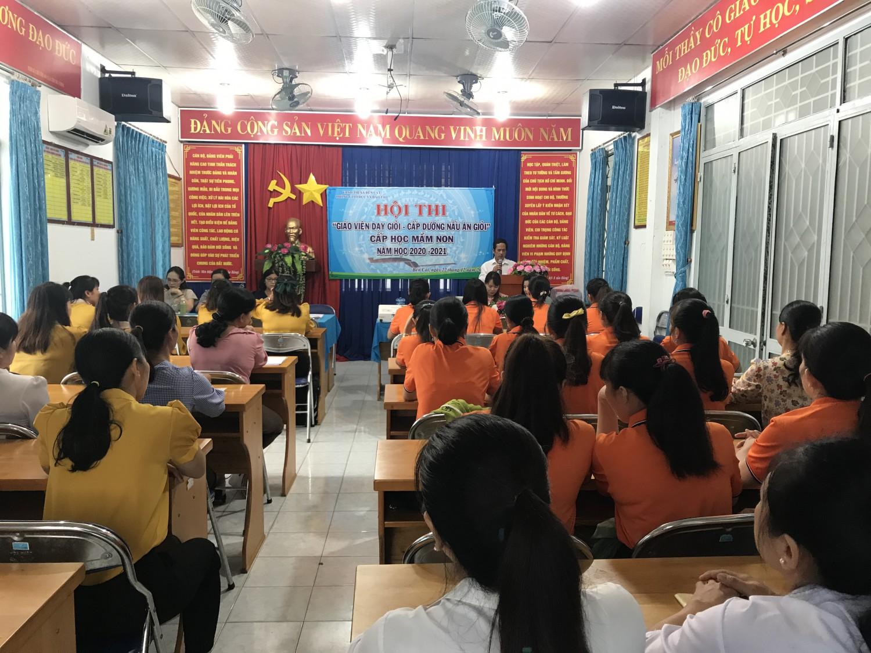 Hội thi giáo viên dạy giỏi cấp thị xã, năm học 2020-2021